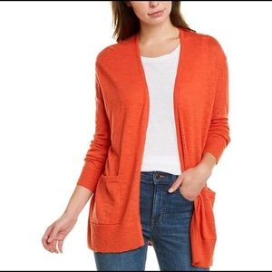 NWT Madewell Open Front Pocket Cardigan Sweater